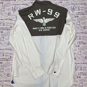 Rocawear Classic Ninety Nine & Forever Button Down